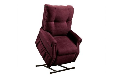 medlift two way reclining lift chair dawson maroon 1155dm