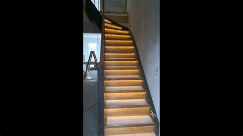 Treppen Len Led by Treppen Led Beleuchtung Mit Awesome Ledneopixel With
