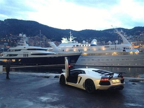 When In Monaco What Would You Rather Have, A Super Yacht