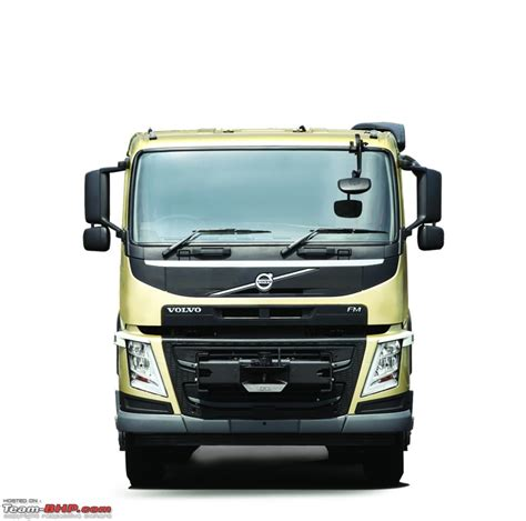 volvo launches  truck range  india team bhp