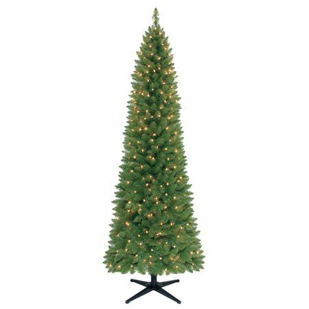 walmart 65 artifical xmas trees time pre lit 7 brinkley pine artificial