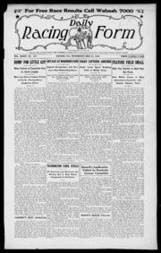 daily racing form n wednesday may 1930 daily racing form free download borrow and