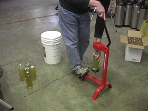 how to cork a wine bottle diy wine making at home doovi