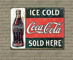 Plaque Vintage Metal : various vintage retro wall signs wartime advertisement metal wall sign plaque ebay ~ Teatrodelosmanantiales.com Idées de Décoration