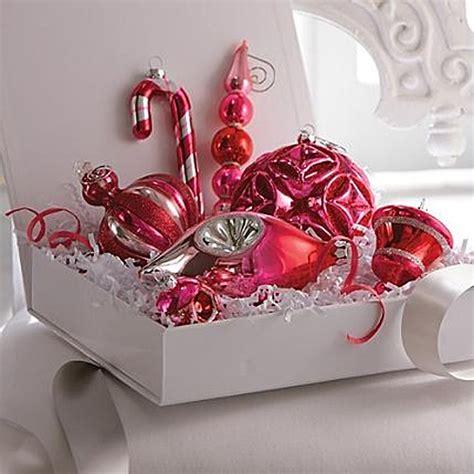 martha stewart white christmas ornaments retro modern it lovely
