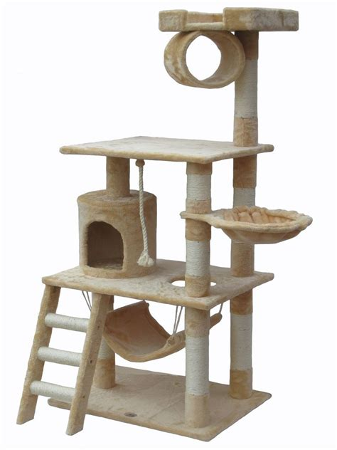 Cat Tree House Toy Bed Scratcher Post Furniture F67 Ebay