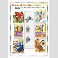 House And Furniture There Isare Worksheet  Free Esl Printable Worksheets Made By Teachers
