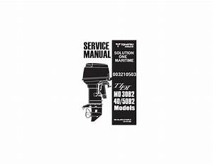 Tohatsu Outboard Service Manual Tldi Two Stroke 30 Hp  40
