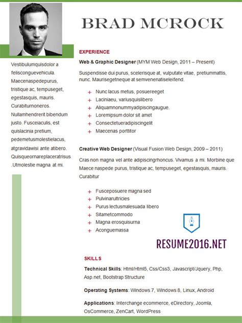 Most Recent Resume Format 2016 by Resume Format How To Choose