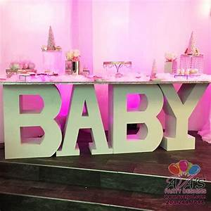 party rentals gallery ava party designs With letter table rental