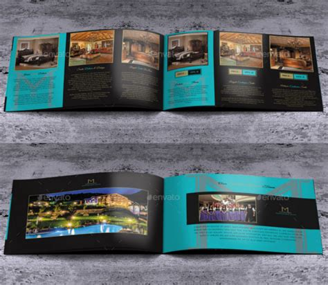 Free Business Brochure 8 Pages A4 Free Psd Pages Brochure Templates Flyer Templates For Pages