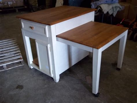 kitchen table with cabinets underneath www m37auction kitchen island w pull out table