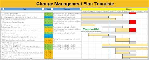 change management templates project management templates