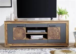 Tv Board Sheesham : tv board sheesham 150x62 cm aus massivholz massivholzm bel ~ Indierocktalk.com Haus und Dekorationen
