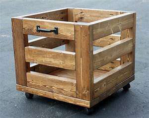 Artsybuildinglady: Storage Bin on Wheels