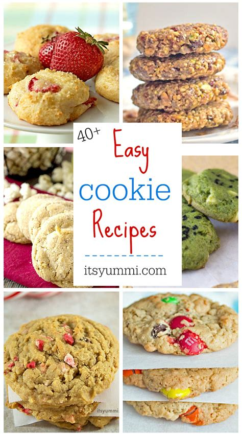 50 easy cookie recipes for 2018 its yummi