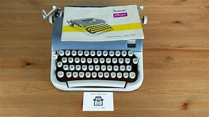 Working Vintage 1960 U2019s Beaucourt Script Typewriter