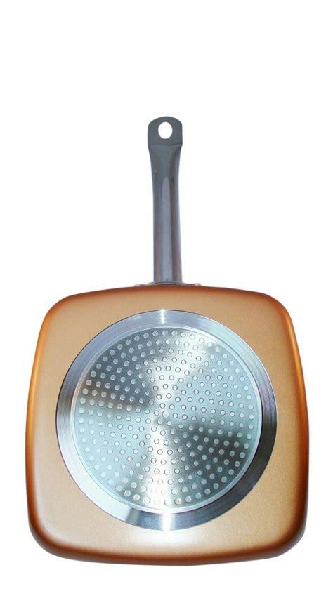 copper square pan xl