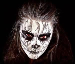 Déguisement Halloween Qui Fait Peur : maquillage halloween femme qui fait peur ~ Dallasstarsshop.com Idées de Décoration