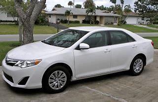 2013 toyota camry mpg buy new 2013 le 4 door white sedan toyota camry 280