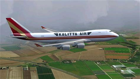 Kalitta Air Boeing 747-4HQF N798BA for FSX