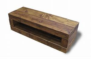 Chunky Stretch TV Stand - The Cool Wood Company