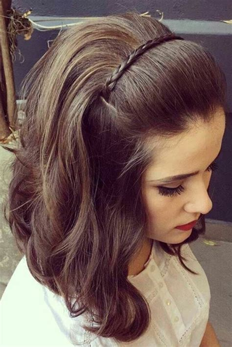 15 easy to do everyday hairstyle ideas for short medium
