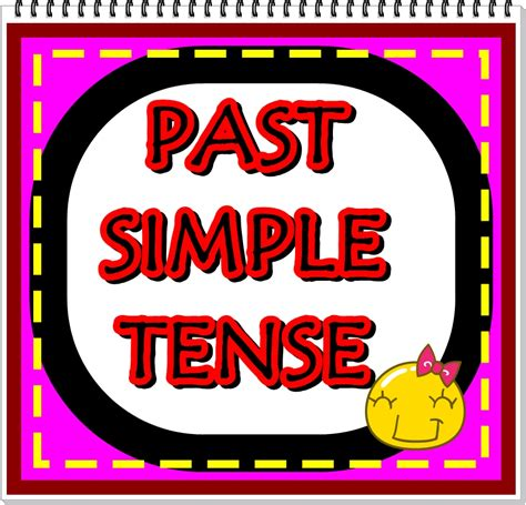 Simple Past Tense  Let's Study English