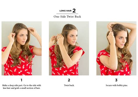 easy way to style hair 10 easy ways to style hair the everygirl 4053
