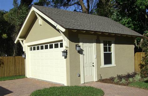 Craftsman Style Detached Garage Plan