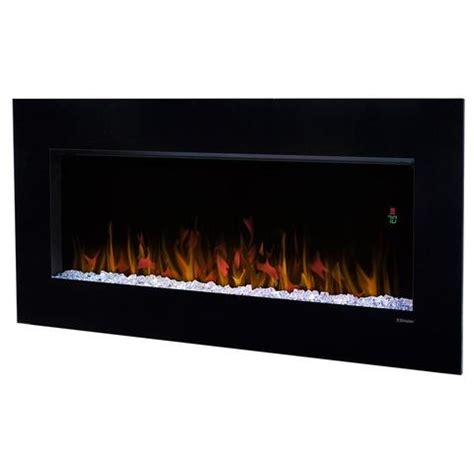 dimplex nicole  electric fireplace wall mounted
