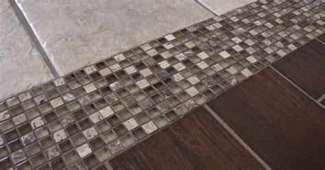 tile to tile transition mosaic transition