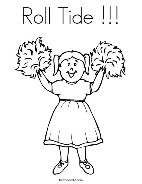 alabama roll tide coloring pages coloring pages