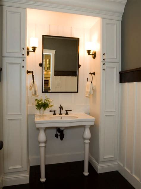 Small Bathroom Sink With Storage by Small Bathrooms With Clever Storage Spaces