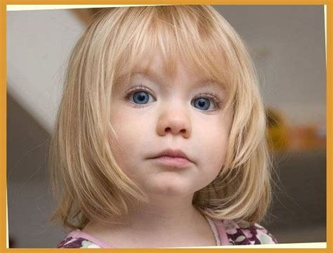 Cute Bob Haircuts For Toddlers