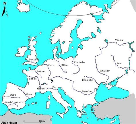 Carte Fleuve Rhin by Europe G 233 Ographie