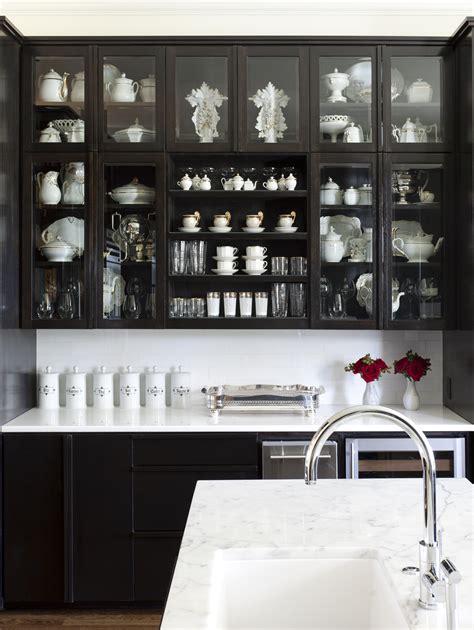 Black Cupboard by Bye Bye White Hello Kitchen Cabinets Cococozy