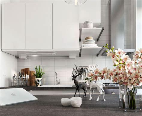 Bright Scandinavian Decor In 3 Small Onebedroom Apartments