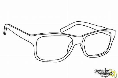 Glasses Draw Step Drawingnow Coloring Steps