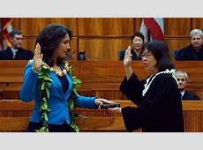 Tulsi Gabbard takes Congressional Oath of Office on the