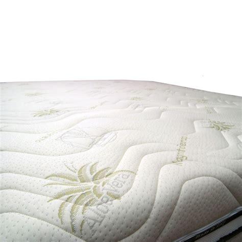Materasso Memory Aloe Vera materasso memory foam alto 22 o 24 cm rivestito aloe vera