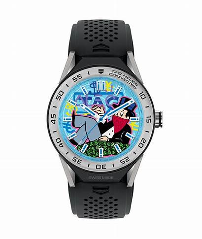 Tag Heuer Alec Monopoly Connected Modular Graffiti