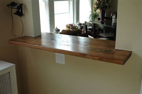 Made Countertops - custom made reclaimed pine countertop by wooden it be