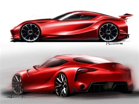 Toyota Ft1 Concept Design Videos (updated)  Car Body Design