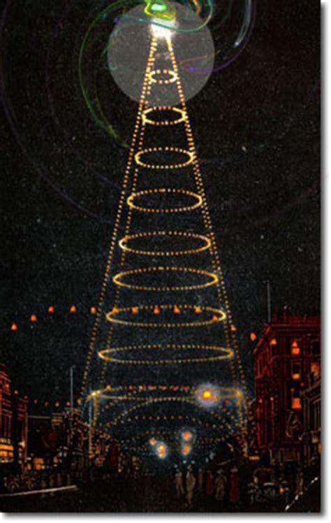 san jose light tower nocturne