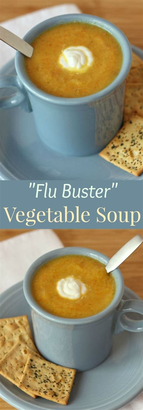 best vegetable soup recipes quot flu buster quot vegetable soup recipe a delicious