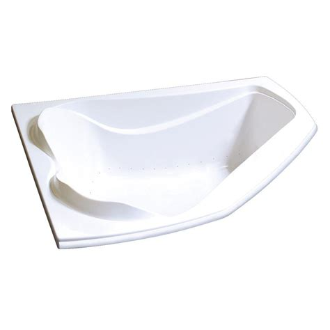Air Bath Tub by Maax Cocoon 5 Ft Acrylic End Drain Corner Drop In Air