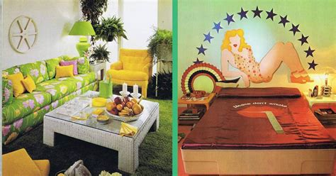 Groovy Interiors 1965 And 1974 Home Décor: Mind-Blowing Home Interiors And Decor From The 60s And 70s