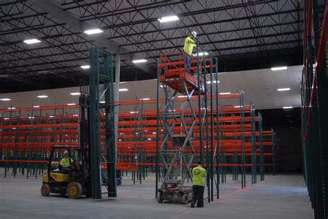 pallet rack installation ak material handling systems