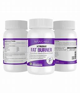 Maxgars Xtreme Fat Burner 100  Results With No Side Effects  60 Capsules 60 No S Unflavoured